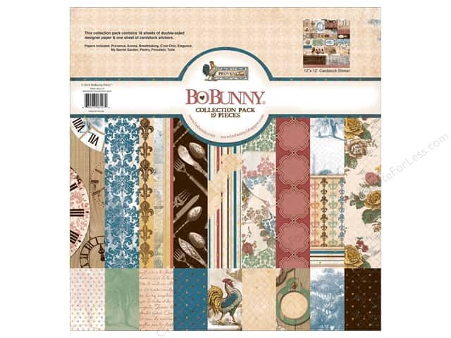 Bo Bunny 12 x 12 in. Collection Pack Provence