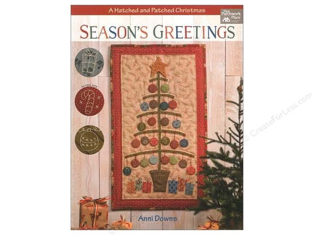 Season's Greetings: A Hatched and Patched Christmas Book by Anni Downs