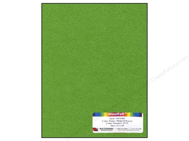 National Nonwovens 35% Wool Felt 12 x 18 in. Magical Forest (10 sheets)