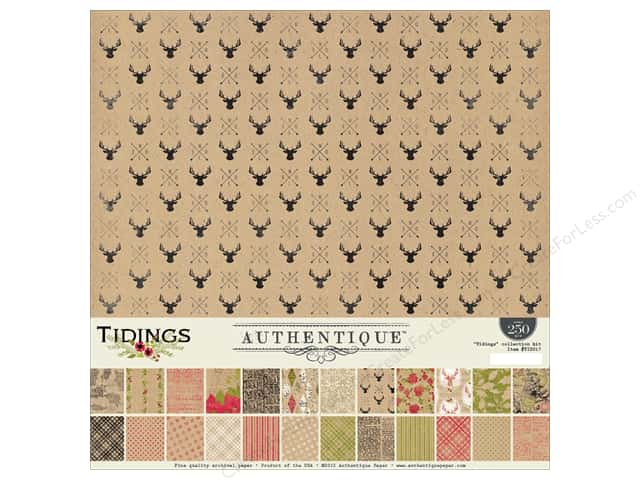 Authentique 12 x 12 in. Collection Kit Tidings