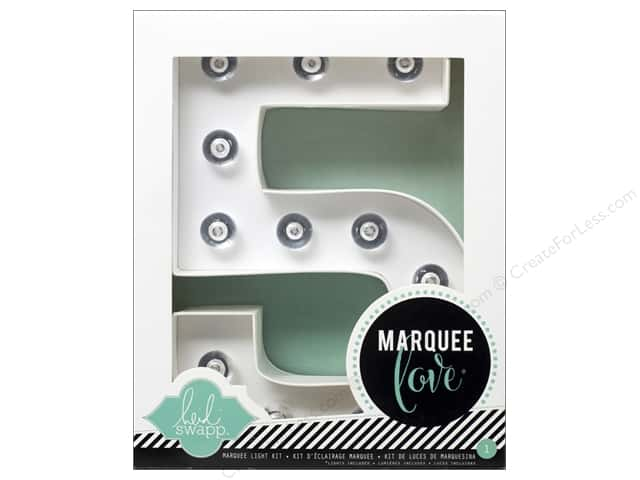 "Heidi Swapp Marquee Love Number Kit 8 1/2 in. ""5"""