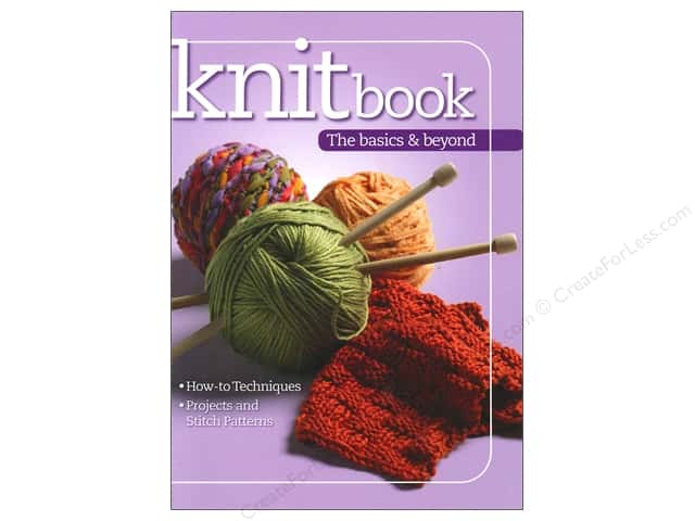 Knit Book The Basics And Beyond by Landauer Publishing
