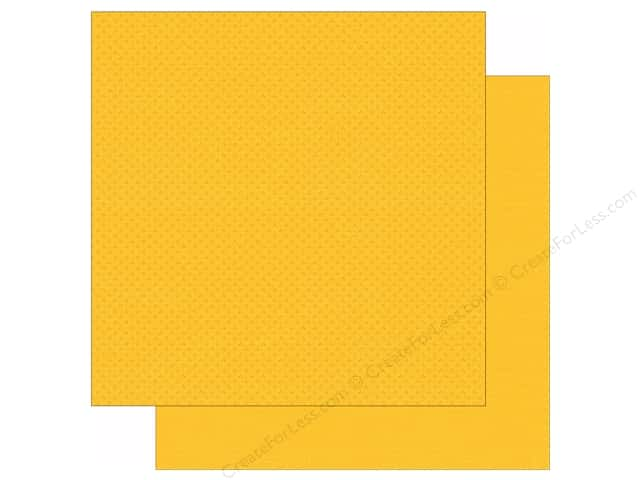 Simple Stories 12 x 12 in. Paper We Are Family Yellow Calico/Linen (25 sheets)