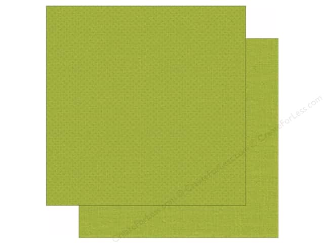Simple Stories 12 x 12 in. Paper We Are Family Green Calico/Linen (25 sheets)