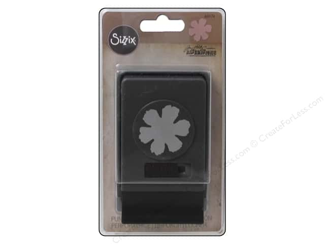 Sizzix Paper Punch Large Tattered Flower by Tim Holtz