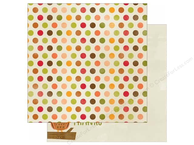 "Imaginisce Give Thanks Collection Paper 12""x 12"" Hello Autumn (25 sheets)"