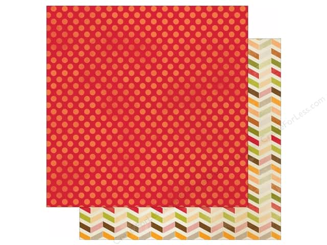 "Imaginisce Give Thanks Collection Paper 12""x 12"" Rustic Red (25 sheets)"