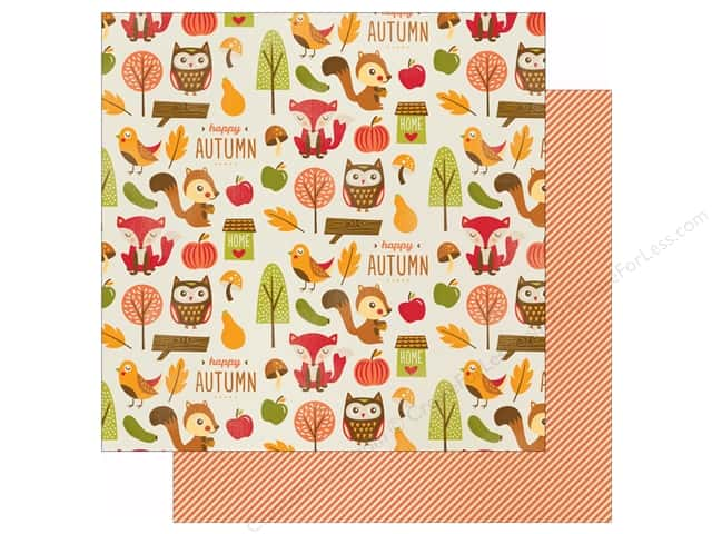 "Imaginisce Give Thanks Collection Paper 12""x 12"" Woodland (25 sheets)"