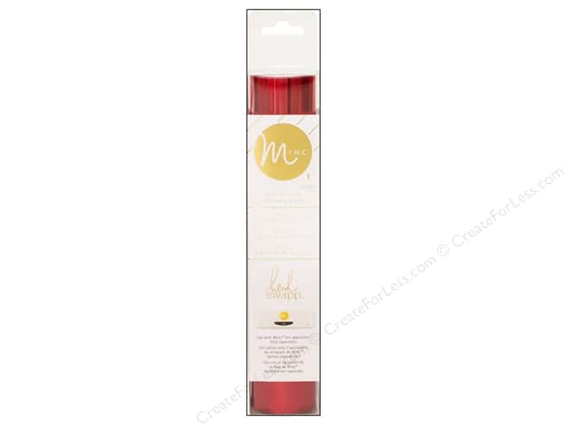 Heidi Swapp Minc Reactive Foil 6 x 60 in. Red