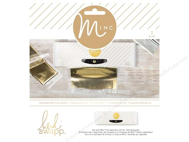 Heidi Swapp Minc Foil Transfer Folders 2 pc.
