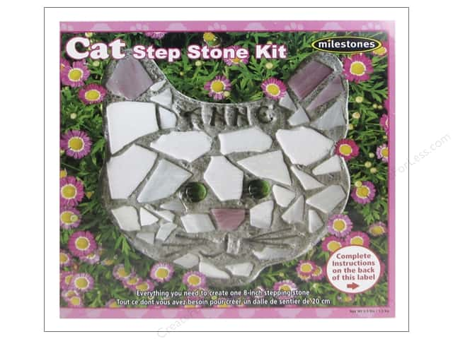 Milestones Stepping Stone Kit 8 in. Cat
