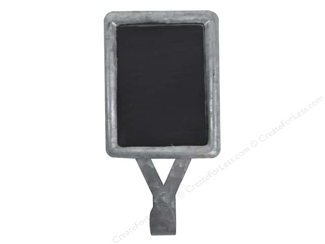 Hampton Art Mix The Media Galvanized Chalkboard Hook
