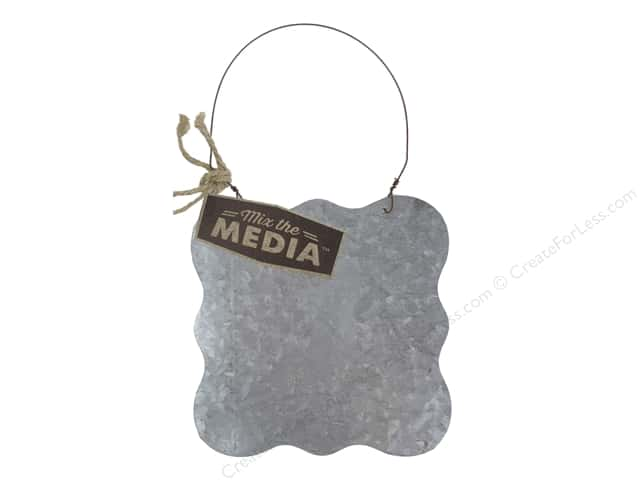 "Hampton Art Mix The Media Galvanized Surface 6""x 6"""