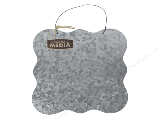 "Hampton Art Mix The Media Galvanized Surface 10""x 10"""