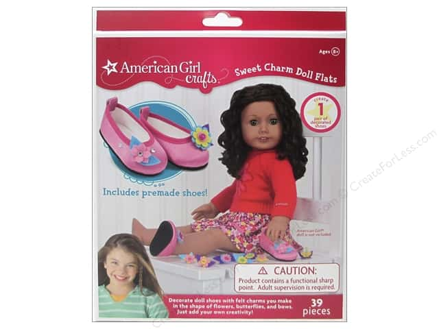 American Girl Kit Sweet Charm Doll Flats