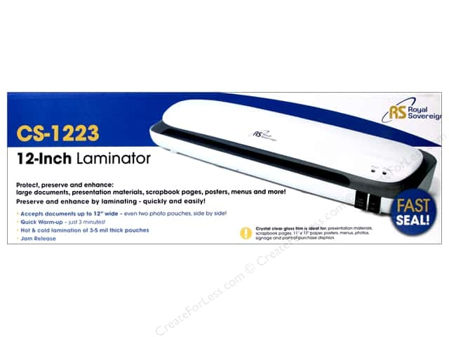iCraft Laminating Machine 12 in.