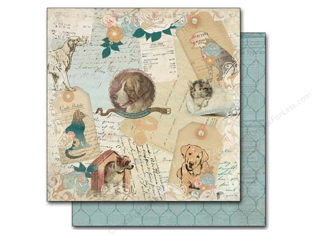 Authentique 12 x 12 in. Paper Devoted Cherish (25 sheets)