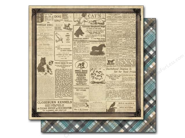 Authentique 12 x 12 in. Paper Devoted Reminisce (25 sheets)
