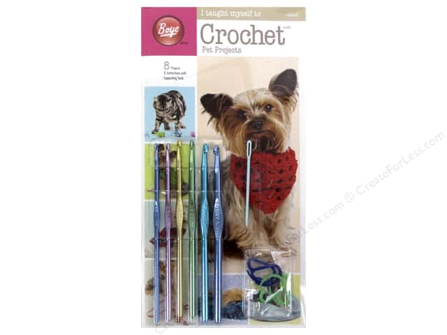 Boye I Taught Myself To Crochet Pet Projects Kit