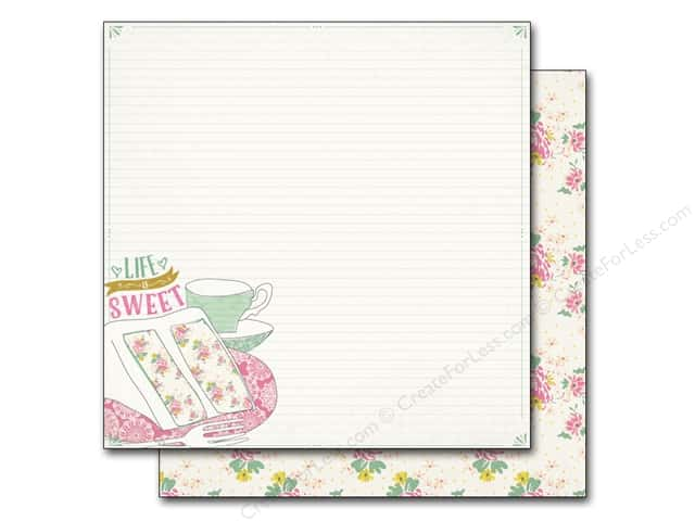 Authentique 12 x 12 in. Paper Infused Sweetened (25 sheets)