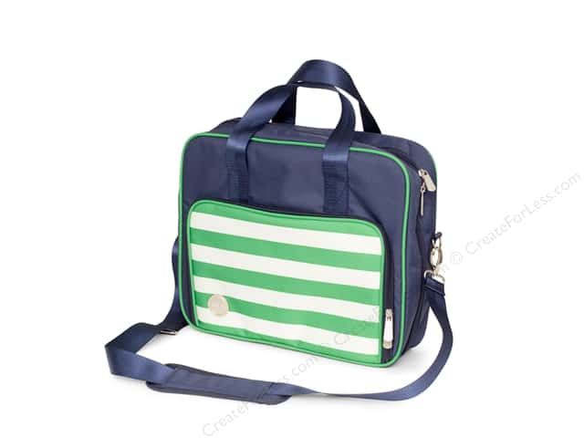 We R Memory Keepers Crafter's Shoulder Bag Navy