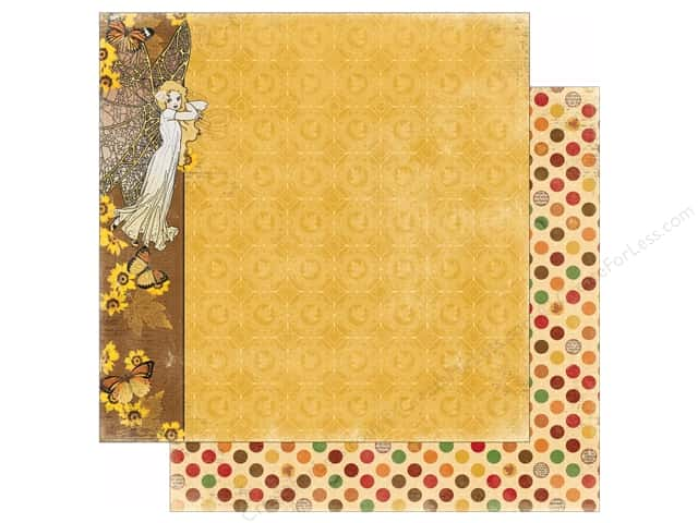 Bo Bunny 12 x 12 in. Paper Enchanted Harvest Collection Nymph (25 sheets)