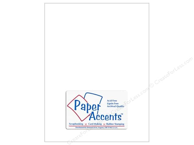Paper Accents Vellum 8 1/2 x 11 in. #922 Bright White (25 sheets)