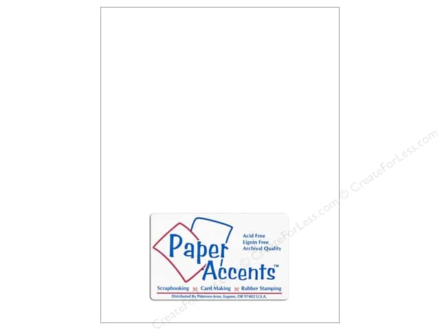 Vellum 8 1/2 x 11 in. #923 Pearl by Paper Accents (25 sheets)