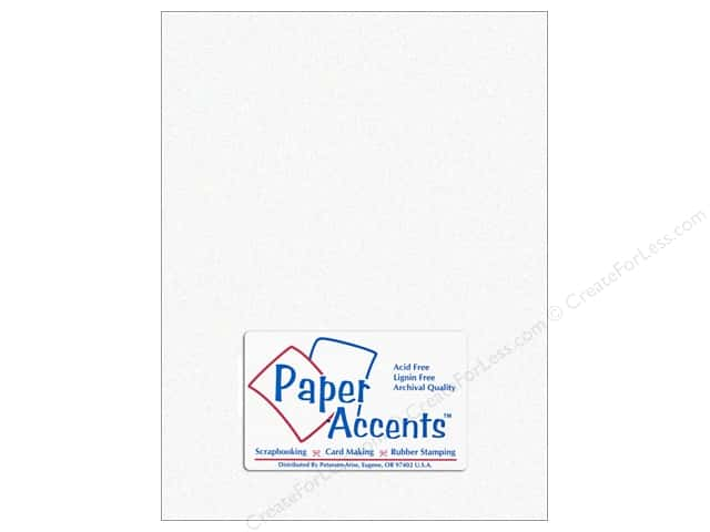 Paper Accents Vellum 8 1/2 x 11 in. #940 Parchment White (25 sheets)
