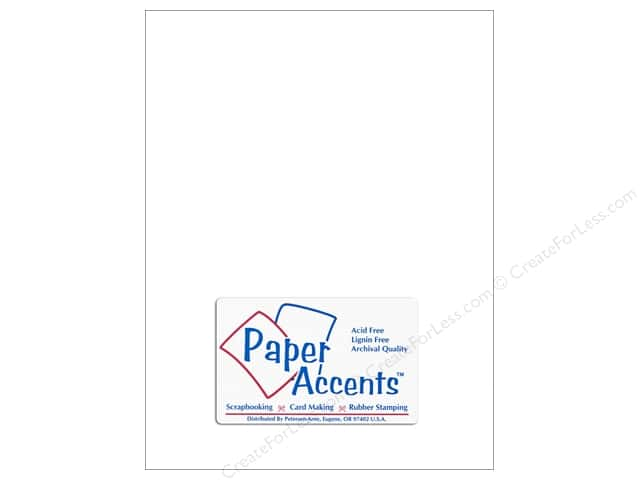 Vellum 8 1/2 x 11 in. #901 Light Weight White by Paper Accents (25 sheets)