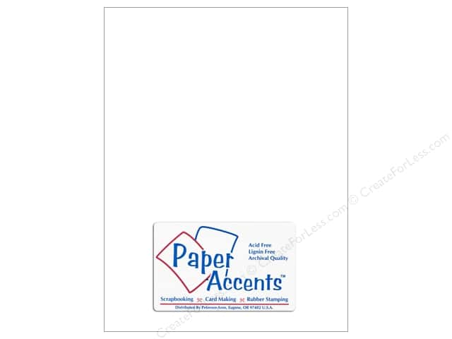 Paper Accents Vellum 8 1/2 x 11 in. #902 Medium Weight White (25 sheets)