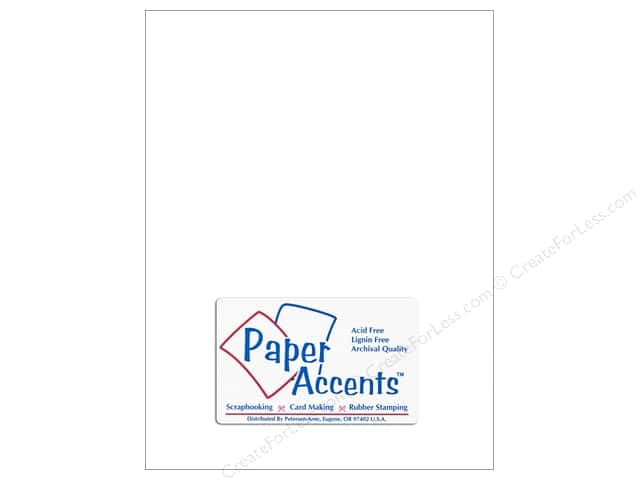 Paper Accents Vellum 8 1/2 x 11 in. #903 Heavy Weight White (25 sheets)
