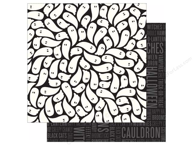 Pebbles 12 x 12 in. Paper Boo! (25 sheets)