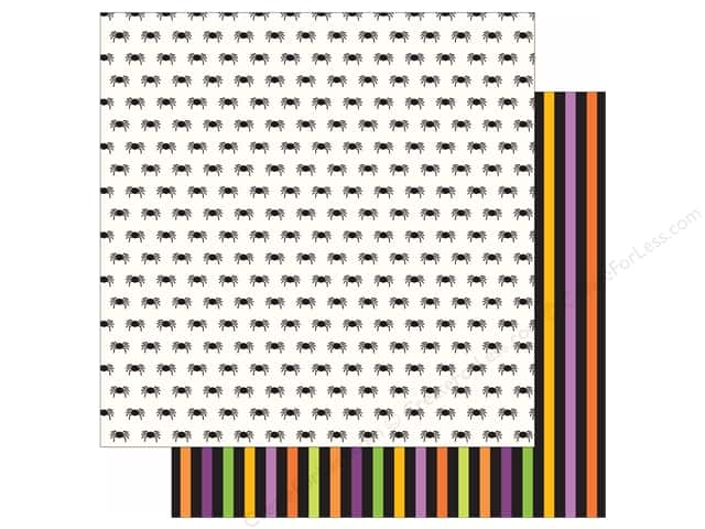 Pebbles 12 x 12 in. Paper Boo Creepy Crawly (25 sheets)