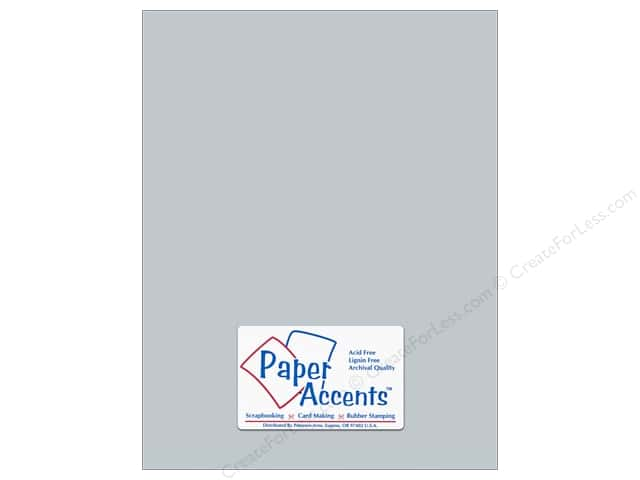 Paper Accents Pearlized Paper 8 1/2 x 11 in. #897 Slate (25 sheets)