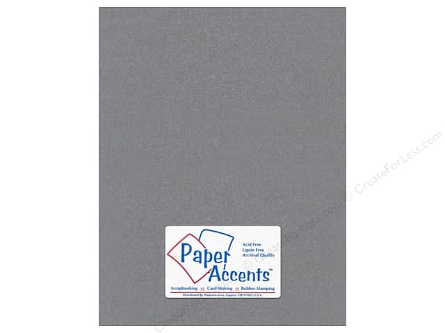 Pearlized Paper 8 1/2 x 11 in. #898 Graphite by Paper Accents (25 sheets)