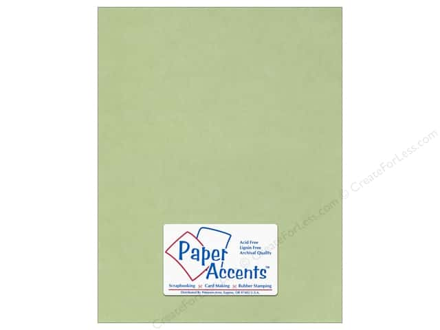 Vellum 8 1/2 x 11 in. #904 Leaf Green by Paper Accents (25 sheets)