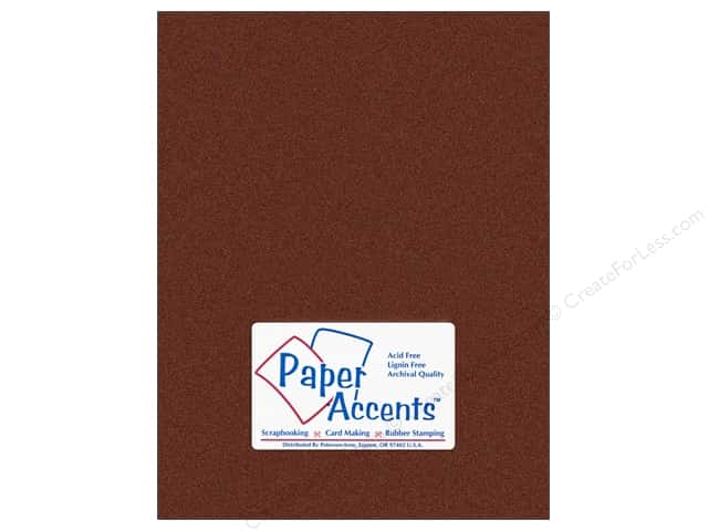 Pearlized Paper 8 1/2 x 11 in. #854 Bronze by Paper Accents (25 sheets)