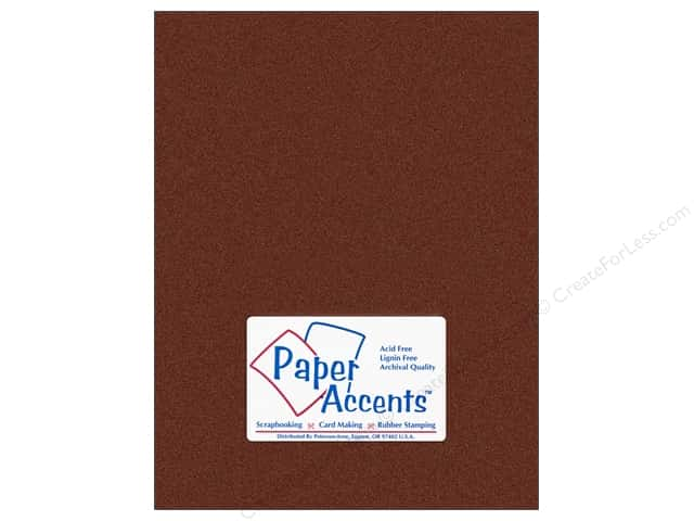 Pearlized Paper 8 1/2 x 11 in. #854 Bronze by Paper Accents 5 pc.