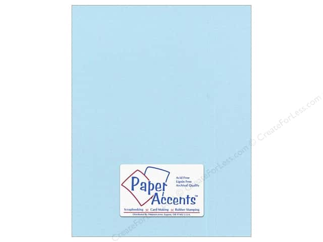 Paper Accents Pearlized Paper 8 1/2 x 11 in. #8841 Powder Blue 5 pc.