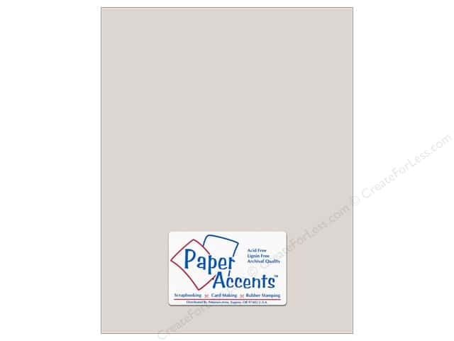 Paper Accents Pearlized Paper 8 1/2 x 11 in. #895 Silver 5 pc.