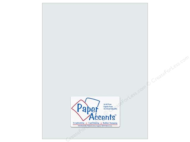 Pearlized Paper 8 1/2 x 11 in. #896 Nickel by Paper Accents 5 pc.