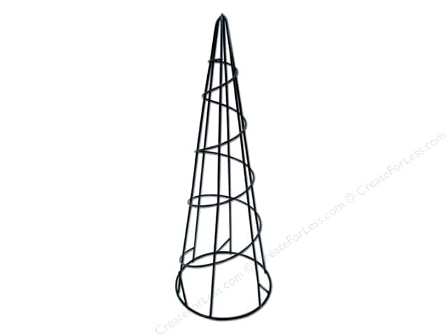 Darice Metal Wire Form 15 in. Cone
