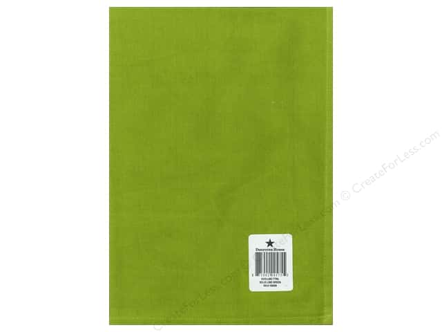 """Dunroven House Towel 20""""x 28"""" Lime Green"""