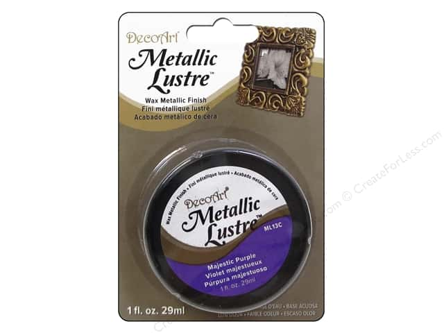 DecoArt Metallic Lustre - Majestic Purple 1 oz.