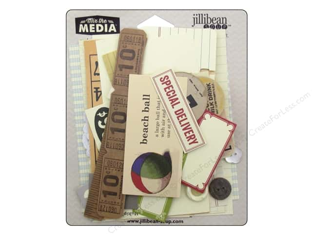 Hampton Art Mix The Media Ephemera Cream