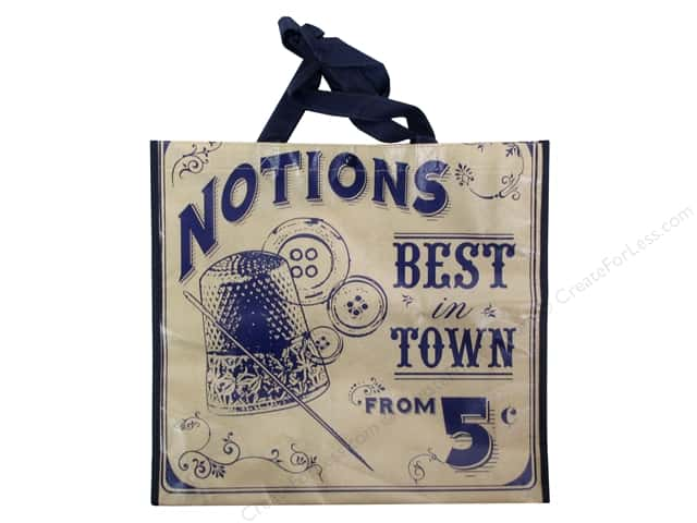 "Tacony Notions Shopping Tote 15""x 14""x 4"" Notions"