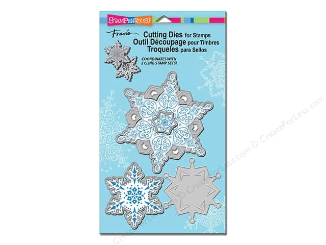 Stampendous Cling Rubber Stamp Delicate Snow
