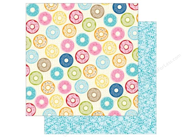 Bella Blvd 12 x 12 in. Paper Family Frenzy Donut Day (25 sheets)