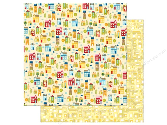 Bella Blvd 12 x 12 in. Paper Family Frenzy Around The Block (25 sheets)
